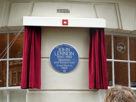 John Lennon 1940-1980 Musician and Songwriter lived here in 1968